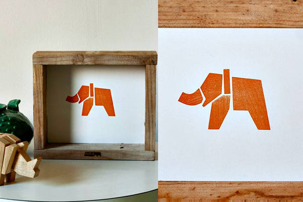 Impresión Letterpress Arca de Pallet