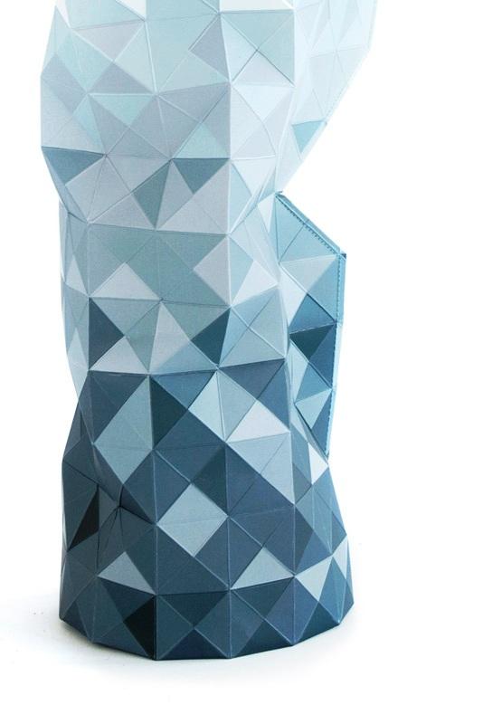 Pepe-Heykoop--Tiny-Miracles---Paper-Vase-Cover-grey-blue-detail-PHOTO-BY-ANNEMARIJNE-BAX