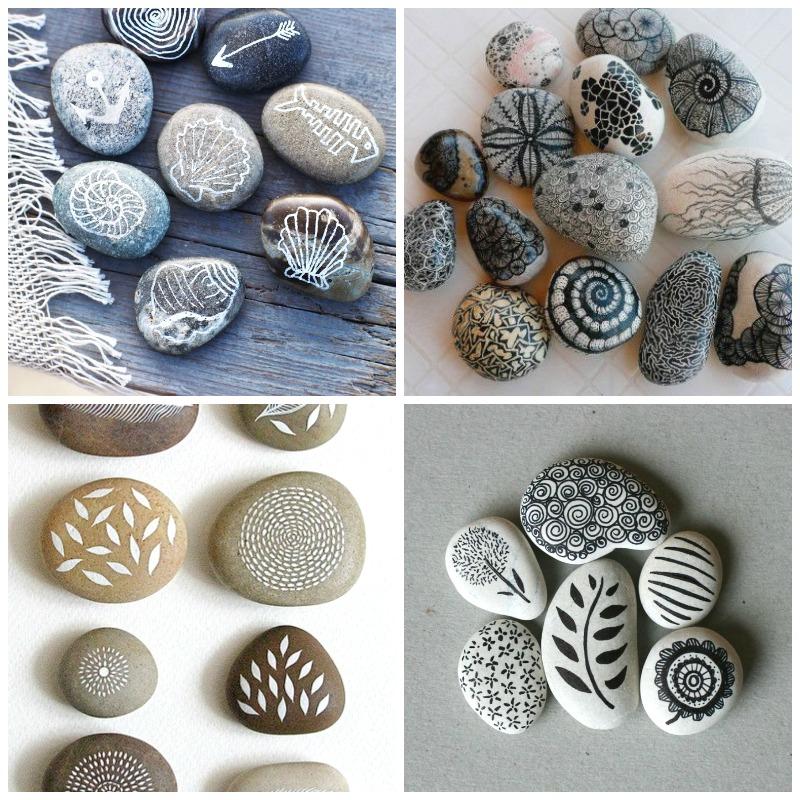 DIY Qu hacer con las piedras que recogemos en la playa 1