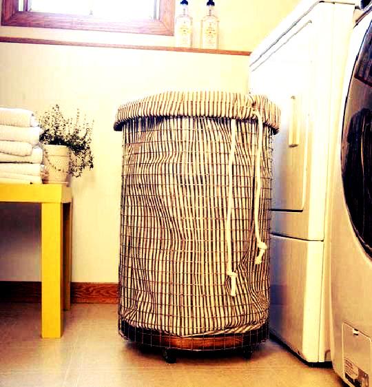 Diy cesto para la ropa de estilo industrial hello marielou - Cestos para ropa sucia ...