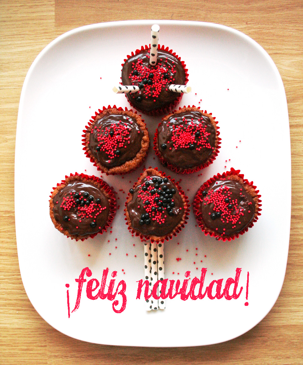 amigo invisible cupcakes