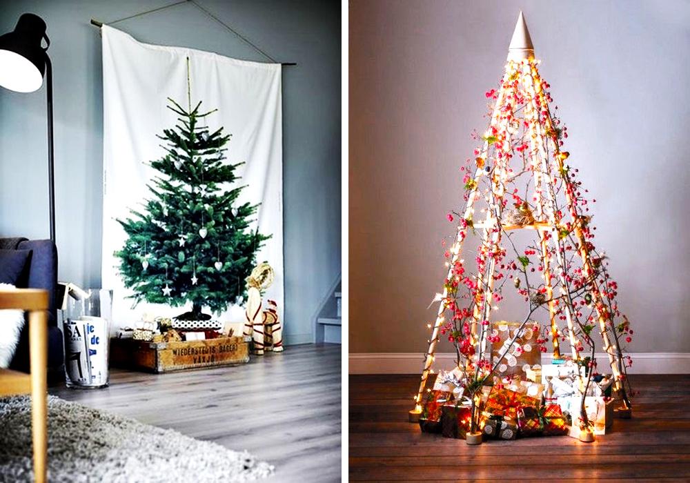 Arboles de navidad originales hello marielou for Como hacer un arbol de navidad original