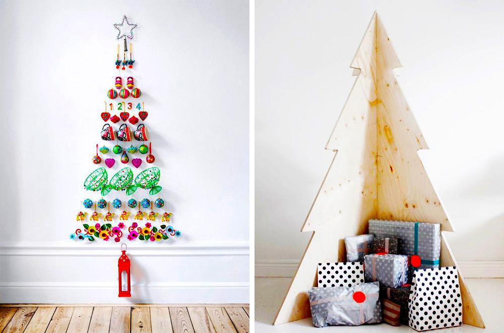 Como hacer arboles de navidad originales como hacer un for Como hacer un arbol de navidad original