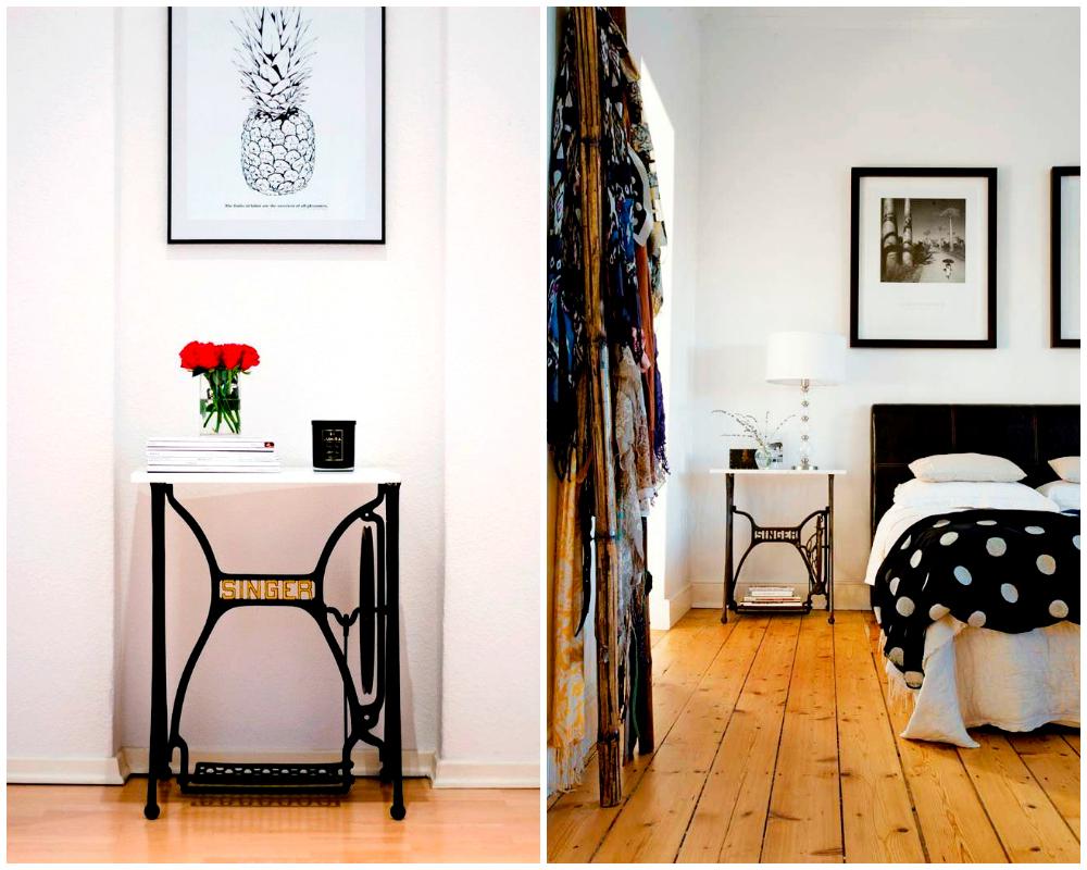 5 Ideas Para Reciclar M Quinas De Coser Antiguas Hello Marielou # Muebles Maquina De Coser